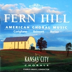 Choral Concert: Kansas City Chorale - Spencer, W. / Corigliano, J. / Belmont, J. / Mulholland, J. / Barber, S. / Wilberg, M.