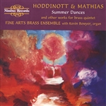 Hoddinott and Mathias, Brass Music
