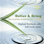 Delius & Frieg - The complete works for cello & piano