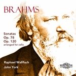 Brahms: Sonatas Op. 78 & Op. 120 (arranged for cello)