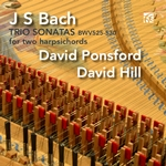 Johann Sebastian Bach: Six Trio Sonatas arranged for two harpsichords