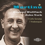 Martinu: 3 Cello Sonatas & 7 Arabesques