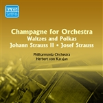 STRAUSS I and II, J.: Champagne for Orchestra - Waltzes and Polkas (Karajan) (1955)