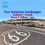 GILBERT, H.F. / COPLAND / IVES / COWELL: 4 American Landscapes / JOIO: New York Profiles (1947-1949)