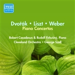 DVORAK, A.: Piano Concerto in G minor /  LISZT, F.: Piano Concerto No. 2 / WEBER, C.M.: Konzertstuck in F minor (Casadesus) (1952, 1954)