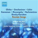 Vocal Recital (Bass): Arie, Raphael - MUSSORGSKY, M.P. /  GLINKA, M.I. / LISHIN, G. / GRECHANINOV, A.T. (Recital of Russian Songs) (1953)