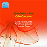 SAINT-SAENS, C.: Cello Concerto No. 1 /  LALO, E.: Cello Concerto (A. Navarra, Paris Opera Orchestra, E. Young) (1955)