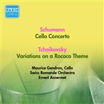 SCHUMANN, R.: Cello Concerto /  TCHAIKOVSKY, P.I.: Rococo Variations (Gendron, Swiss Romande Orchestra, Ansermet) (1953)