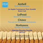 ANTHEIL, G.: Ballet mecanique / LOPRESTI, R.: Sketch for Percussion / CHAVEZ, C.: Toccata / HOVHANESS, A.: October Mountain (Craft, Price) (1959)