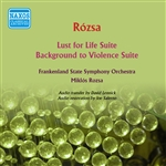 ROZSA, M.: Lust for Life Suite / Background to Violence Suite (Frankenland State Symphony, Rozsa) (1958)