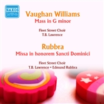 VAUGHAN WILLIAMS, R.: Mass in G minor / Missa in honorem Sancti Dominici,