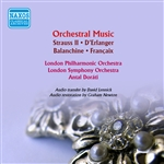 Orchestral Music - STRAUSS II, J. / D'ERLANGER, F. / BALANCHINE, G. / FRANCAIX, J. (Antal Dorati Conducts Ballets Russes) (1936-1939)