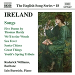 IRELAND: 5 Poems /  We'll to the Woods No More / Sea Fever / Santa Chiara (English Song, Vol. 18)