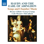 HAYDN, J. /  THE EARL OF ABINGDON: Songs and Chamber Music (Cafe Mozart)