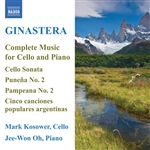 GINASTERA: Cello and Piano Music (Complete) (Kosower)