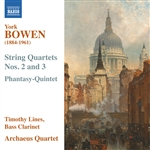 BOWEN, Y.: String Quartets Nos. 2 and 3 / Phantasy-Quintet (Lines, Archaeus String Quartet)