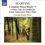 Martinu, B.: Complete Piano Music, Vol. 7