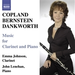 COPLAND, A. /  BERNSTEIN, L.: Clarinet Sonatas / DANKWORTH, J.: Suite for Emma / Picture of Jeannie (Johnson)