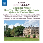 BERKELEY, L.: Chamber Music - Horn Trio /  Flute Sonatina / Viola Sonata / Piano Quintet (New London Chamber Ensemble)