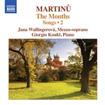 MARTINU, B.: Songs, Vol. 2 (Wallingerová, Koukl)