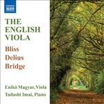 Viola Recital: Magyar, Eniko - BLISS, A. / DELIUS, F. / BRIDGE, F. (English Music for Viola)