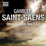 SAINT-SAENS, C.: String Quartets Nos. 1 and 2 (Fine Arts Quartet)