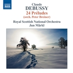 DEBUSSY, C.: Orchestral Works, Vol. 8 (Markl) - Preludes, Books 1 and 2 (arr. P. Breiner for orchestra)