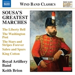 SOUSA, J.P.: Greatest Marches (Royal Artillery Band, Brion)