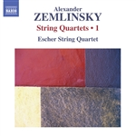 ZEMLINSKY, A.: String Quartets, Vol. 1 (Escher String Quartet) - Nos. 3 and 4