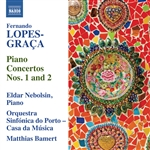 LOPES-GRACA, F.: Piano Concertos Nos. 1 and 2 (Nebolsin, Orquestra Sinfonica do Porto - Casa da Musica, Bamert)