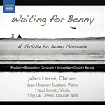 Chamber Music with Clarinet - POULENC, F. / BERNSTEIN, L. / STRAVINSKY, I. / GOULD, M. / BARTOK, B. (Waiting for Benny) (J. Herve)