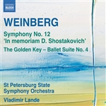 WEINBERG, M.: Symphony No. 12 / The Golden Key Suite No. 4 (St. Petersburg State Symphony, Lande)