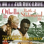KHACHATURIAN, A.: Othello Suite / The Battle of Stalingrad Suite (Slovak Radio Symphony, Adriano)