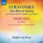 Stravinsky: The Rite of Spring (Arr. V. Leyetchkiss for Piano) - Debussy:  La mer, L. 109 (Arr. L. Garban for Piano)