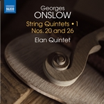 Onslow: String Quintets, Vol. 1