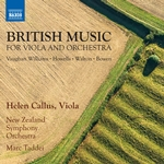 British Music for Viola Concertos