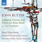 John Rutter: Anthems, Hymns & Gloria for Brass Band