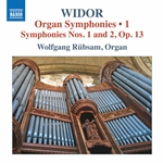 Widor: Organ Symphonies, Vol. 1