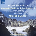 Sinigaglia: Complete Works for String Quartet, Vol. 1