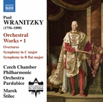 Wranitzky: Orchestral Works, Vol. 1