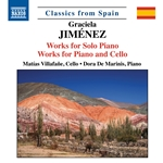 Jiménez: Works for Piano & Cello