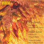 BARTOK, B.: Divertimento /  Romanian Folk Dances / ROZSA, M: Concerto for Strings (Csaba)