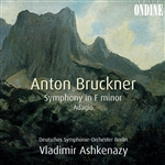 BRUCKNER, A.: Symphony in F minor /  String Quintet in F major: Adagio (Berlin Deutsches Symphony, Ashkenazy)