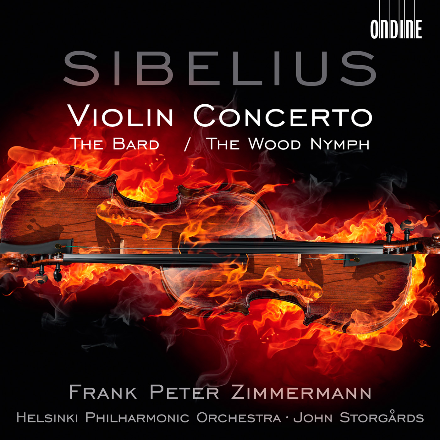 SIBELIUS, J.: Violin Concerto /  The Bard / The Wood Nymph (F.P. Zimmermann, Helsinki Philharmonic, Storgards)