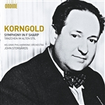 KORNGOLD, E.W.: Symphony in F sharp major, Op. 40 /  Tanzchen im alten Stil (Helsinki Philharmonic, Storgards)