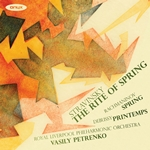 Stravinsky: The Rite of Spring/Rachmaninov: Spring/Debussy: Printemps