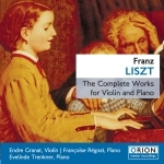 Liszt: Violin and piano
