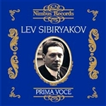 Lev Sibiryakov: Arias and Songs