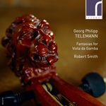 Georg Philipp Telemann: Fantasias for Viola da Gamba