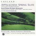 COPLAND, A.: Outdoor Overture (A) / Appalachian Spring / Poems of Emily Dickinson (Clark)